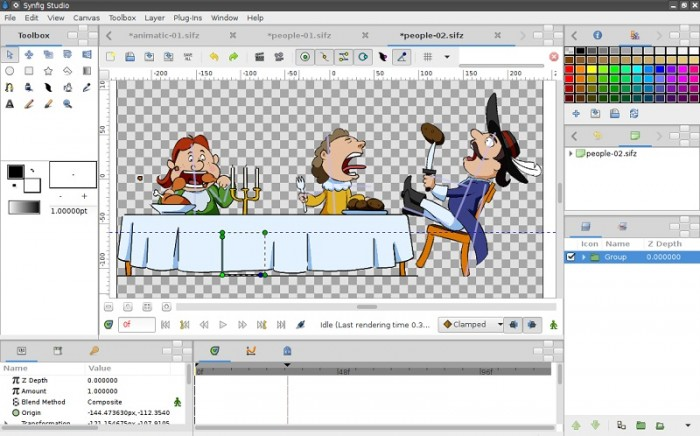 Synfig Studio 1.0.1 Open Source 2D animation software released ...