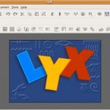 lyx document