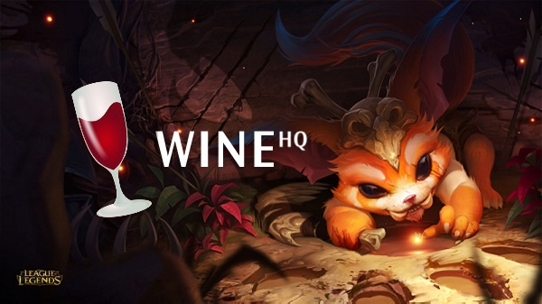 winehq league of legend