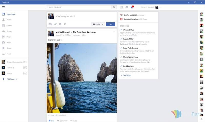 facebook windows store - 1