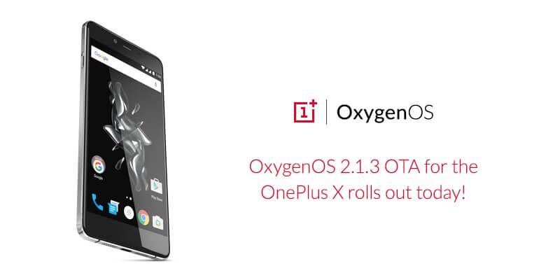oxygenOS OTA OnePlus