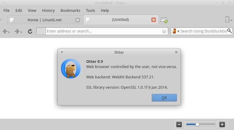 Otter Browser 0.9.08
