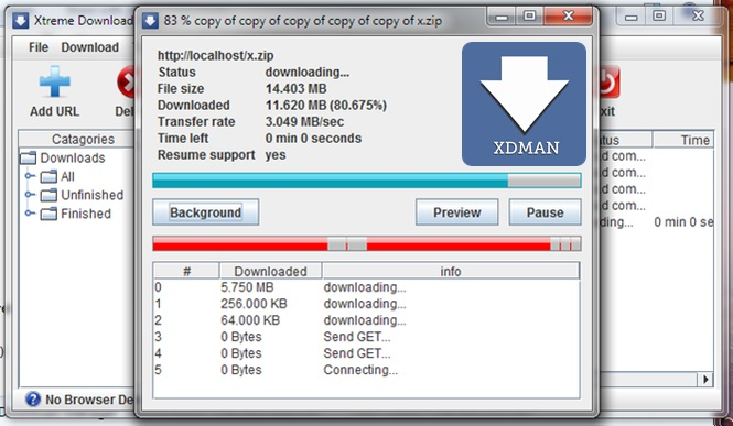 Xtreme Download Manage