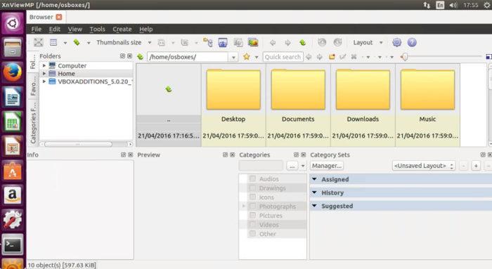 xnview ubuntu