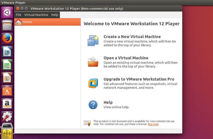how to use vmware workstation 12 player