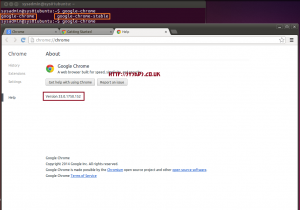 Google Chrome in Ubuntu