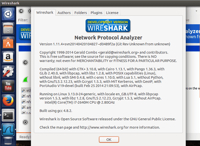 How to install WireShark in Ubuntu 14 04, 13 10, Linux Mint · Sysads