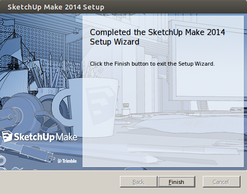 Install Sketchup Make 2014 In Ubuntu