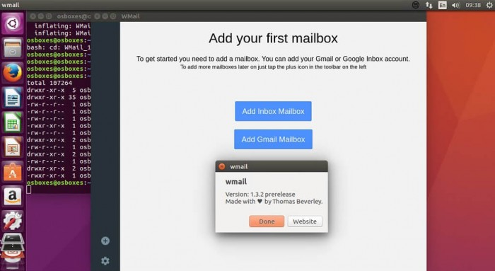 Wmail 1.3.2, a Gmail & Google Inbox Client released All Posts Applications HowTos